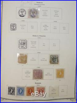 EDW1949SELL ROMANIA Comprehensive Mint & Used nearly Complete 1865-1964