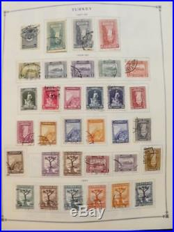 EDW1949SELL TURKEY Very clean Mint & Used collection on album pages. Cat $1490