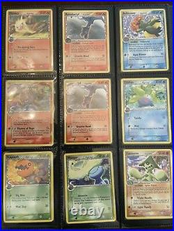 Ex Delta Species Pokemon Card Lot Of 70 With Holos