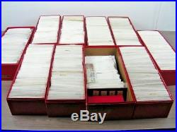 GERMANY & AREA, 1000's & 1000's of Mint/Used Stamps in stock cards(10 red boxes)