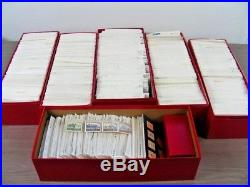 GERMANY & AREA, 1000's & 1000's of Mint/Used Stamps in stock cards(6 red boxes)