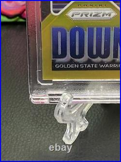 GOLD 2020-21 Panini Prizm Stephen Curry Downtown Carr No. 9 4/10! #d /10