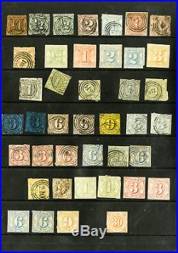 Germany Early States Mint & Used Classic Stamp Selection