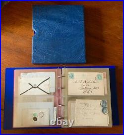 Great Britain & British Commonwealth Cover Collection Rare Postal History Lot