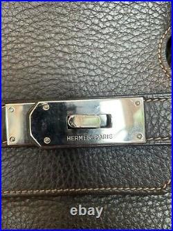 HERMES Shoulder Birkin-JPG-Taurillon Clemence-Ebene Color -stamp H Square-Mint