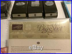 HUGE Stampin Up LOT Brand New never used Stamps New and Used Punches & Dies
