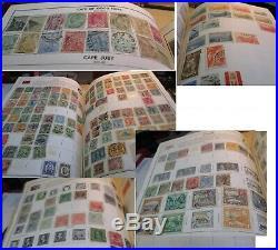 Harris Standard 2 Volume Stamp Album 11,000+ Stamps 1800's -1971 Mint Used