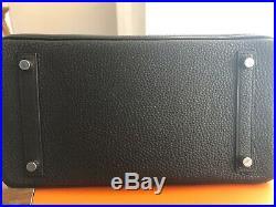 Hermes Birkin 30 Black With Palladium Hardware Pristine Mint Stamp X