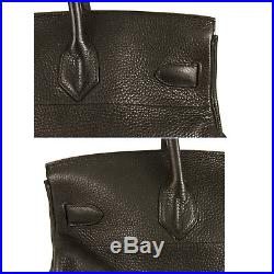 Hermes Birkin JPG Black Togo Leather Gold Hardware 2004 Stamp H mint condition