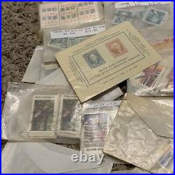 Huge Lot Of U. S. Stamps In Glassines, Great Collection For Investor