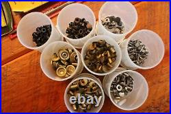 Huge Lot Vintage Leather Tools-craftool, Punches, Sets, Supplies, Stamps, Extras
