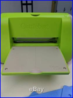 Huge Sizzix Lot Die Stamp Folder CuttleBug Lollipop Alphabet Upper & Lowercase