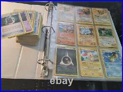 Huge Vintage Pokemon & YuGiOh Binder Collection Lot Rare Holo 1st Ed. 500+ Cards