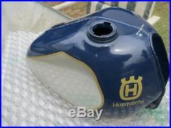 Husqvarna Original Paint Alloy Tank Beautiful Near Mint Condition Stamped Fr80j1
