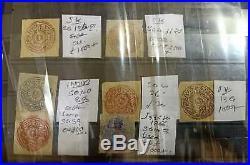 India Jammu Kashmir 1866- 78 Lot Of 25 Stamps High CV Lot 10000gbp +