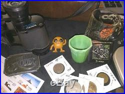 Junk Drawer Lot Jewelry, Stamps/Covers, Paper Money, Coins, etc