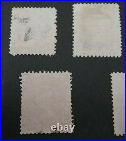 Kerryyw, Canada Large Queen, #21-29, used Cv $690.00 lot #84