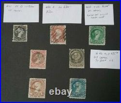 Kerryyw, Canada Large Queens #21,22,24,25,27,28, used Cv$580.00 lot #52