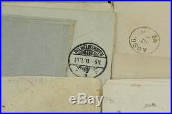 Large Lot of 55 Early Germany Covers 1863-1873 High CV Big Value Scarce