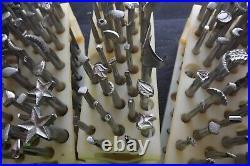Leather Craftvintagecraftoollarge Lot Of 108 Stamp Tools Plus