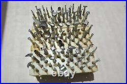 Leather Craftvintagecraftoollarge Lot Of 88 Stamps Plus A Lot More Tools
