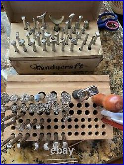 Leather Stamping Tool Set