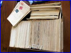 Lifetime Collection Lot of almost 500 U. S. First Day Covers Cachets 1932-1978