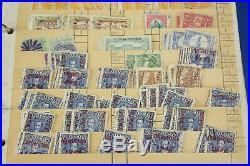 Lifetime Guatamala Stamp Collection Stockbook+ 1000s Mint, Early, BOB Huge Value