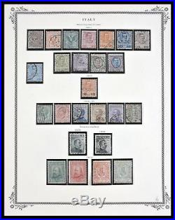 Lot 29594 Collection stamps of Italy 1862-2006