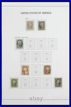 Lot 50005 Collection stamps of USA 1847-2016