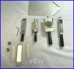 Lot 6 of Huge Kingsley Hot Foil Stamping+4 stamping+ex base plate +. # 6176