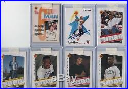Lot 7 Auto Pippen Rodman Kemp Robinson Payton Mullin Mchale Coa Scoreboard Stamp