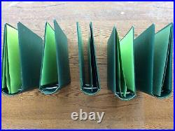 Lot Of 5 Scott Specialty 2 Post Albums And Slipcases Four 3, One 3-1/4