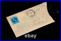 Lot of 42 OLD LETTERS 1871-1889 RARE Handwritten Ephemera 1800's Stamps
