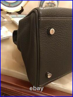 MINT-HERMES Kelly Shoulder Bag-JPG-Clemence-gray-stamp M Square