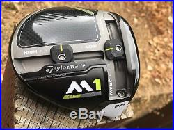 MINT TaylorMade 2017 M1 440 9.5 Driver RH Tour Issue +Stamp HotMelt -HEAD ONLY