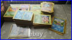 Massive Pokemon Card Collection Lot Binder TOPPS HOLOs WOTC Vintage 1st editions
