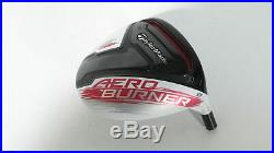 Mint! TOUR ISSUE! TaylorMade AeroBurner TP 9 Driver -HEAD- Long Hosel + Stamp