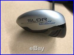 Mint Taylormade SLDR Mini Driver 14 Tour Stamp Diamana S 60 Shaft Reg Flex RH