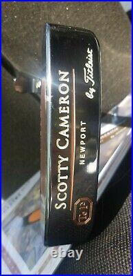 NEAR MINT 1997 SCOTTY CAMERON SOLE STAMPED TERYLLIUM NEWPORT TEI3 WithHC & COA