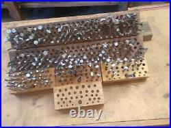 Nearly 300 Vintage Leather Stamping Tools Kraft Tool Tandy Custom