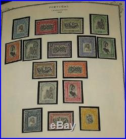 PORTUGAL & COLONIES mint and used collection 1840-1960 Scott cat $13,000.00+