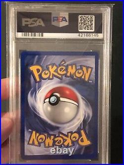 PSA 10 GEM MINT Pokemon 1st Edition Base Set Nidoking Thick Stamp! Booster Holo