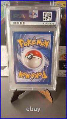 PSA 9 Pokemon Aerodactyl Holo 1999 1st Edition Prerelease Fossil BROWN Stamp