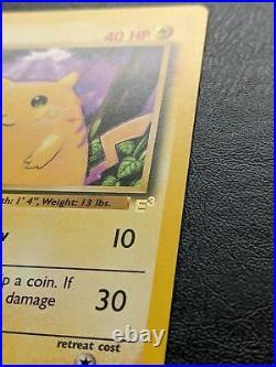 Pikachu 58/102 E3 Gold Stamp Promo Pokemon Card Mint