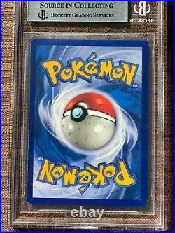 Pokemon 1st Edition Base Set Pikachu 58/102 BGS 8.5 MINT CHECK SUBGRADES