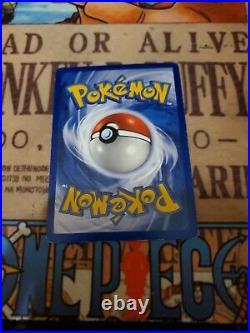 Pokemon 1st Edition Shadowless Pikachu Error/Misprint Ghost Stamp 58/102 LP-NM