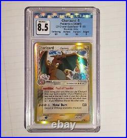 Pokemon 2006 Charizard 4/100 Reverse Holo ex Crystal Guardians CGC 8.5 NM/MINT+