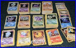 Pokemon Cards LOT Binder Collection 500+ Base 1&2, Jungle, Fossil, & more