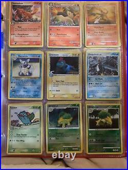 Pokemon Lot/Binder! 300+ Cards! Base Set Jungle Holo EX Full Art WOTC! PSA